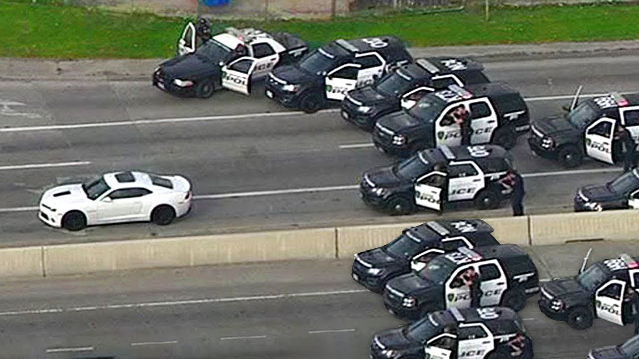 Craziest Police Chases Caught On Camera