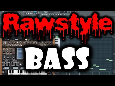 RAWSTYLE BASS   How to Make Hardstyle Bass FL Studio   Sylenth1 Bass Tutorial Raw Hardstyle Tutorial