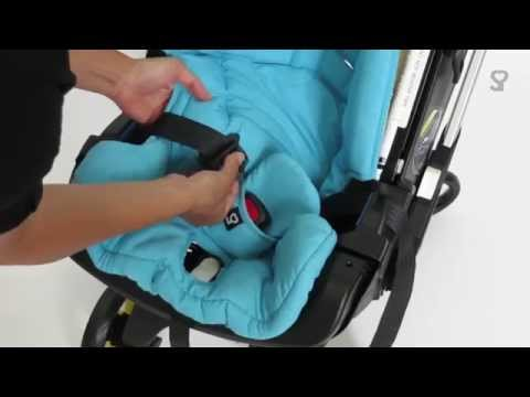 Doona Infant Car Seat - Seat Cover Removal
