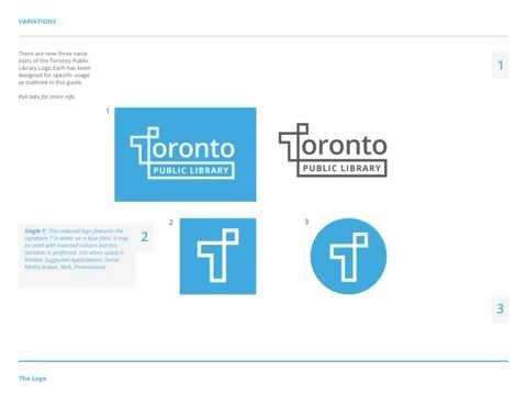 Toronto Public Library Identity