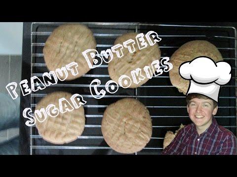 Peanut Butter Sugar Cookies! - Cookies a la Scott
