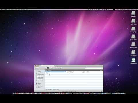 Understanding the Burn Folder in Mac OS X