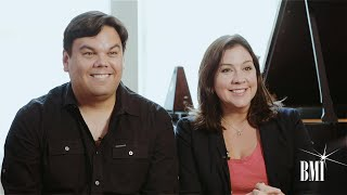 Composer Bobby Lopez and lyricist Kristen Anderson-Lopez 'Let it Go'
