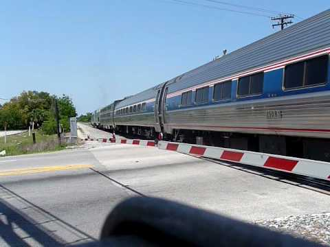 Special Amtrak Departing Cocoa on FEC