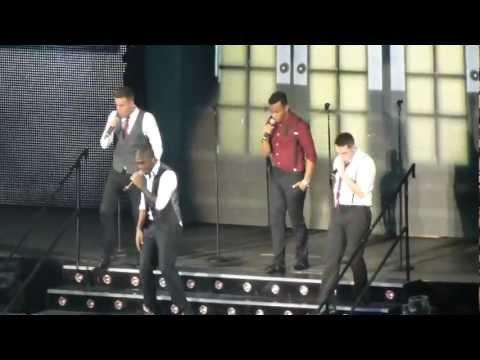 Xfactor Live Tour 2012 Wembley - THE RISK!!!