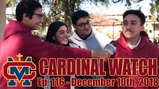 Cardinal Watch: ep. 116 - December 10th, 2018
