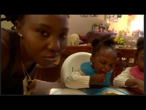 WATCH MY TODDLERS EAT AFRICAN | NIGERIAN FOOD