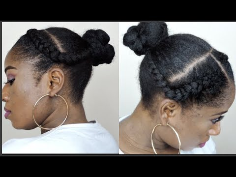 NATURAL 4C HAIR PROTECTIVE STYLE