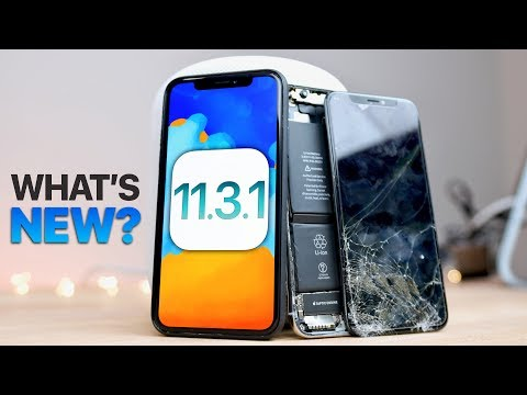 iOS 11.3.1 Released! What's New?