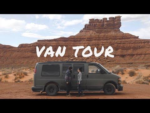 Van Tour | Vanlife Couple Traveling America in a Van