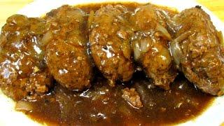 Salisbury Steak Recipe - How To Make Classic Salisbury Steak and Gravy