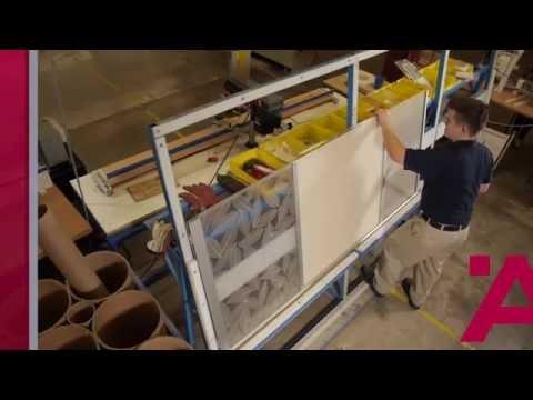 Aluflex Aluminum Frame Doors-Construction Process