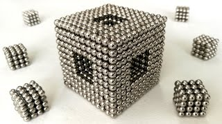 Magnetic balls, so many shapes and tricks