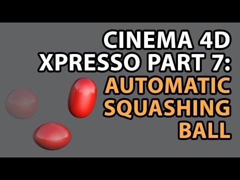 Download C4D Tutorial: Using XPresso Part 7: Adding Squash