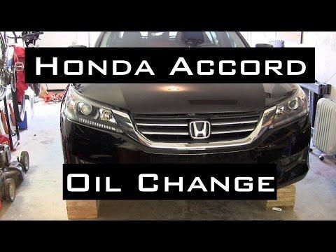 Honda Accord Oil Change DIY | 2013-2016