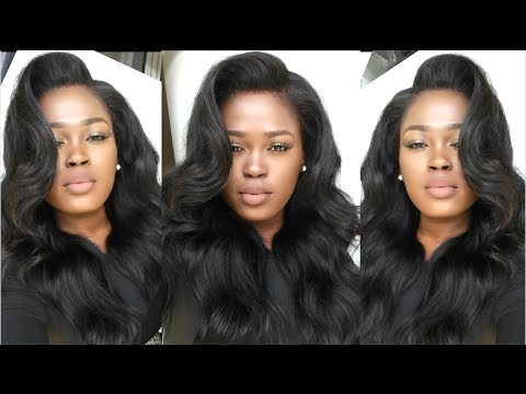 Make Your Lace Frontal/Wig Look Natural(No Sew, No Glue, No Hair Out) Uamazinghair