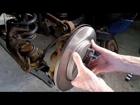 Dodge Journey Rear Brake Replacement