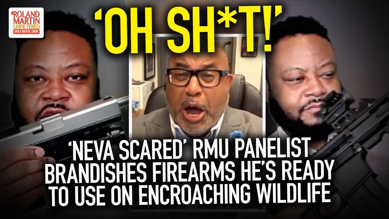 'OH SH*T!' 'Neva Scared' RMU Panelist Brandishes Firearms He's Ready To Use On Encroaching WIldlife