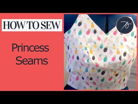 How to Sew Princess Seams