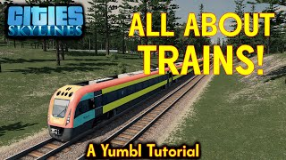Guide to Cargo and Passenger Trains - Cities Skylines Tutorial