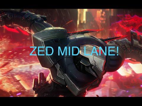 Zed Mid - League of Legends
