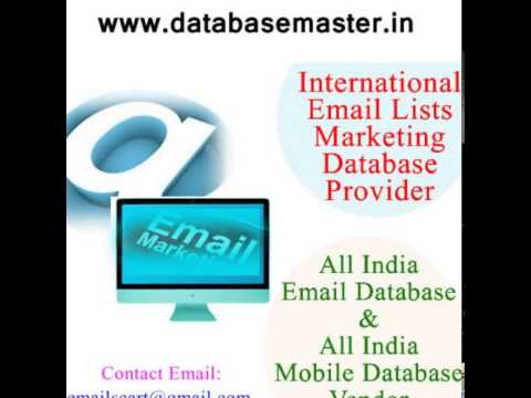 USA Email Lists | Mailing Lists | DatabaseMaster