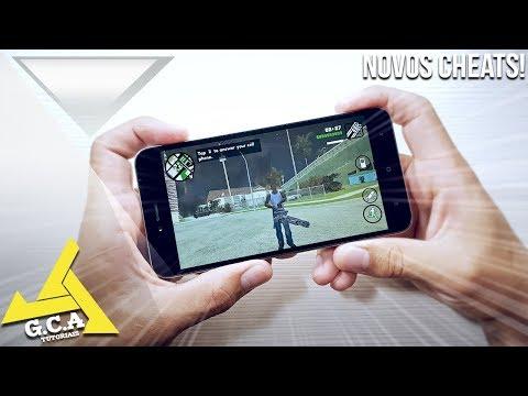 Agora ficou FÁCIL colocar Cheats (Trapaças) Gta San Andreas Android - SEM ROOT!