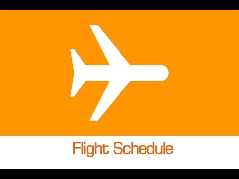 How to check fligh Schedule or flight details / status