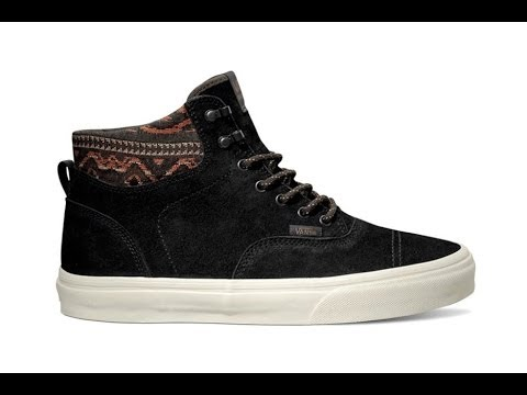 f98fa2059e Shoe Review  Vans California  Hiker  Era Hi (Black Inca)