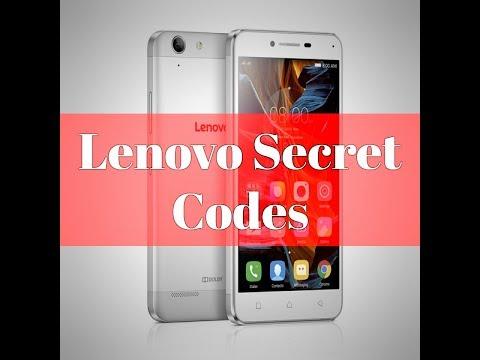 Lenovo Secret Codes