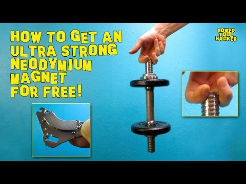 DIY#1: How to get two Ultra Strong Neodymium Magnets for free from an HDD