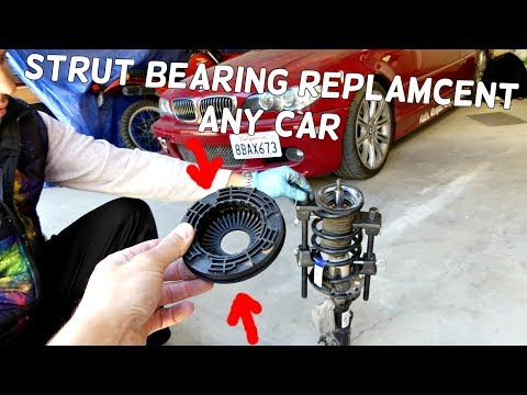 HOW TO REPLACE STRUT BEARING AND SYMPTOMS