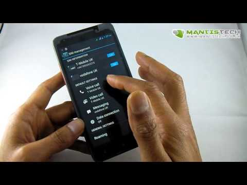 Android Smart Phone Dual Sim Introduction and Tutorial