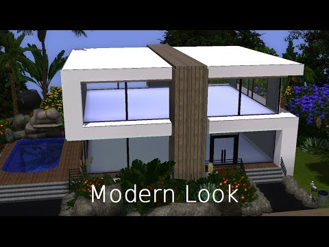 The sims 3 house building│Modern Look [HD]