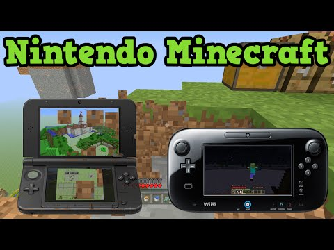 Minecraft Wii U & Minecraft 3DS - Current Status