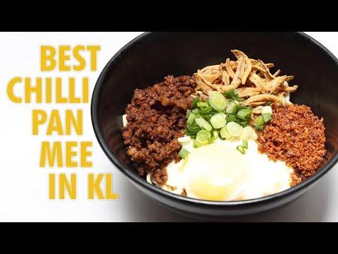 Best Chilli Pan Mee Restaurant in KL