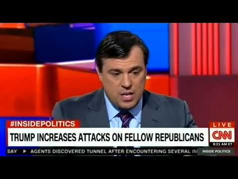 TRUMP INCREASES ATTACKS ON FELLOW REPUBLICANS ON CNN Breaking News