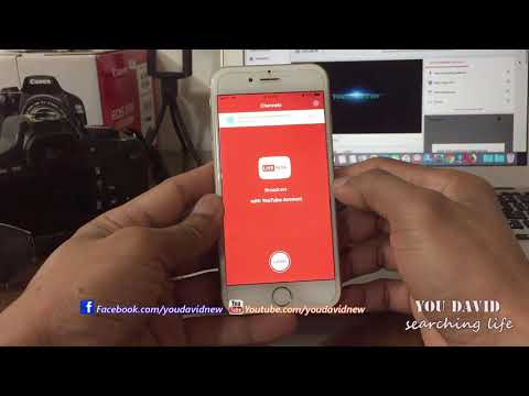 How to Live Video Youtube On iPhone