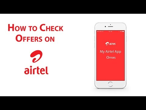 3.My Airtel App : How to check all the Offers.[For Airtel Customers only]