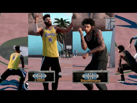 BREAKING ANKLES WITH STAXMONTANA | NBA 2k16 MyPark | REDEMPTION
