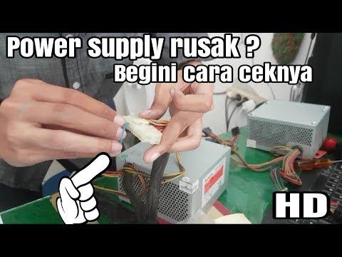 How to check the power supply is broken |psu|Power supply rusak? Begini cara ceknya | full hd |