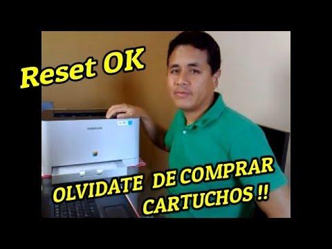 Reset Exitoso!! ..Impresora Samsung CLP-365W