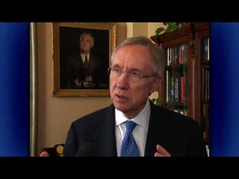 Reid Discusses $25 Million of New Unemployment Funding for Nevada
