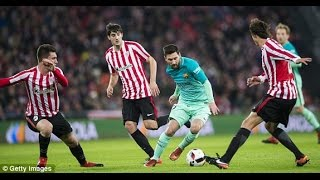 Athletic Bilbao vs Barcelona 2-1 | Highlights and Full goals | SPAIN: Copa del Rey | 05/01/17