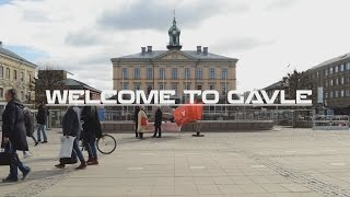 Welcome to Gävle, Sweden   Time-lapse