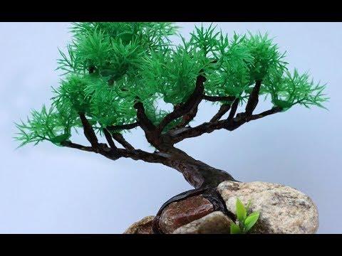 अब Paper और Clay से बनायें ये DIY Artificial Bonsai Tree | How to Make Paper Tree | Clay Crafts