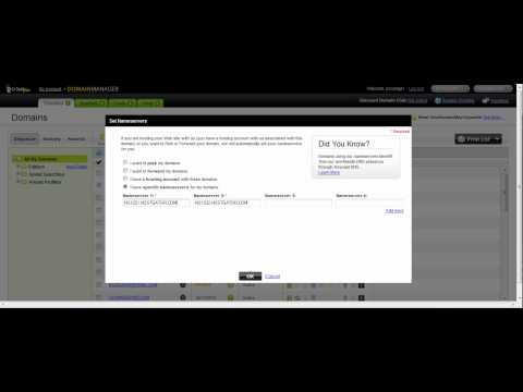 Changing Domain Servers & Adding New Domain in Hostgator CPanel