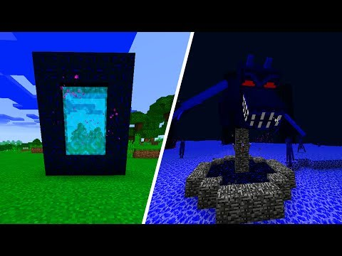 New Dimension in Minecraft Pocket Edition (New World Addon)