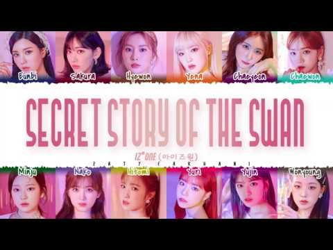 IZ*ONE (아이즈원) - 'Secret Story of the Swan' s [Color Coded_Han_Rom_Eng]