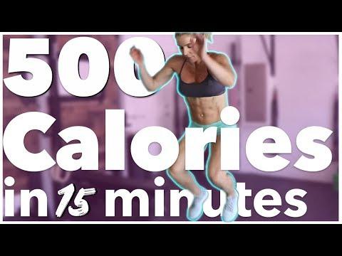 Burn 500 Calories in 15 Minutes | Sarah Grace Fitness